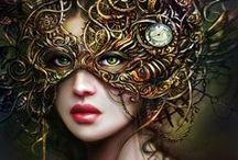 Mask photoinspiration
