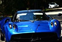 Pagani Huayra Blue / Pagani Huayra Electric Blue
