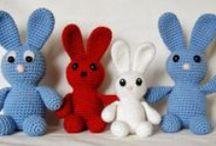 Crochet bunny - Horgolt nyuszik