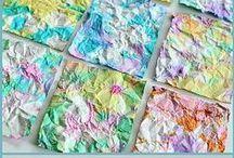 Toddler/ preschool Art activities