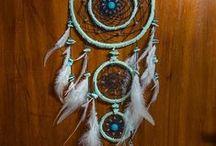 My dreamcatchers / Handmade dreamcatchers created by me INFO https://www.facebook.com/aobhinsdreamcatchers/