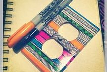Sharpie Art / Creative things to do with Sharpies