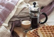 Coffee & Breakfast / coffee & Breakfast, wake up with a good cup of coffee and delicious breakfast