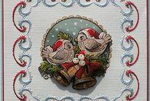 Kerstkaarten / Kaarten maken