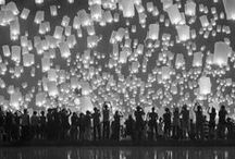 ♥ :)  simplemente... / flying paper lanterns