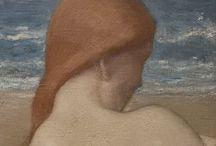 symbolistes: à la plage