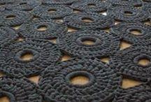 Crochet rug - Horgolt szőnyeg