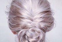 COIFFURE / Idées coiffure tressée, chignonnée, etc. #COIFFURE #CHIGNON #TRESSE
