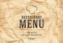 Café Moodboard / café-bistro brand identity, menu and space design inspiration