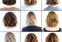CHEVEUX COURTS / Quelles coupes de cheveux choisir? Plutôt courte ou mi-longue?