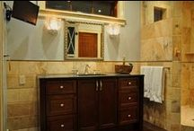 Beautiful Showers Design / Custom Showers completed by All Tile, Inc.
