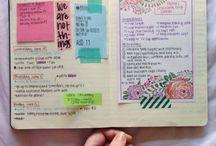 Journal / Filofax, planner and journal ideas