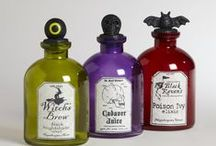 APOTHECARY BOTTLES / by RedSeaCoral Halloween 2014