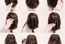 TUTORIELS COIFFURE / Tableau rassemblant les tutoriels de coiffure détaillés.  #Tutoriel #DIY #Coiffure