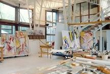 Studios / Spaces that inspire me to keep my studio clean...