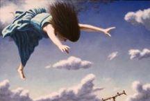 American Dreams / Paintings based on dreams and memories.
