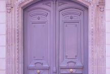 My doors... / Doors has such symbolic/mystical meaning to me...luv a door!
