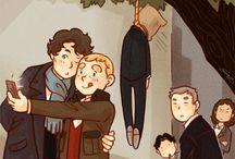 Sherlock / Im falling for this fandom. *badoom tsh*