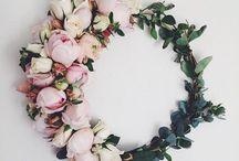 Blumen und Blüten-Inspirationen / Inspirations und Moodboard für alles Blumige