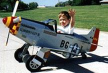 Pedal Planes, Cars, etc. / by Ed Grensky