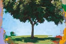 Portraits / Paintings of individual trees.