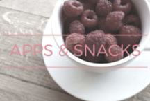 apps and snacks / appetizers and snacks | the rosie project pinterest board of delicious appetizers and snacks for your family and entertaining