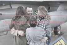 military reunions & homecomings / We love a good reunion! Military reunions and other feel-good stories about our heroes.