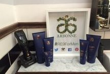 Gentlemen's Day / A collection of male grooming products including the new RE9 Advanced for Men- helping you work smarter, not harder for great looking skin!