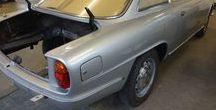 Alfa Sprint 2600 / Blech- und Schweißarbeiten, Restauration eines Alfa Sprint 2600.