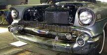 Chevrolet Bel Air Sedan / Karosserierestauration Chevrolet Bel Air (4-Door Sedan). Bei der Karosserierestauration eines Chevrolet Bel Air haben wir einige Blech- und Schweißarbeiten an der Karosserie durchführen müssen.