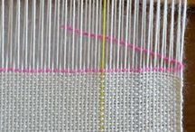 Weaving - Rigid Heddle Loom / Rigid Loom | Weaving | Cricket Loom | Weaving Techniques | Examples | Inspiration | Art | Craft