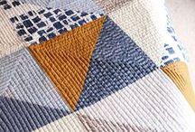 Quilting / Quilts | Quilting | Inspiration | Art + Craft | Texure | Colour | Pattern | Technique | Quilt Design | Tutorials