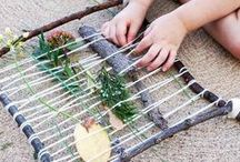 Weaving - With Kids / Weaving projects to do with children | ideas | inspiration \ tutorials | projects
