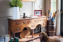 Inspired Living / favorite things that make a house a home - traditional furnishings with a twist of whimsy / by HintofCitrus