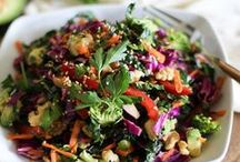 Salads / by Melissa Woolstenhulme Williams