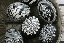 "Pysanky ""Ukrainian Eggs"" / Amazing Ukrainian Art, coloring eggs...."