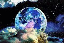I Love lookin' at the  Moon