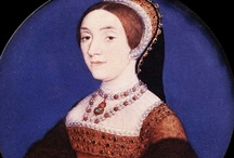 Katherine Howard / A board dedicated to Queen Katherine Howard (1540-ex.1541), fifth wife of Henry VIII and cousin of his second wife, Anne Boleyn.