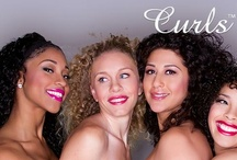Your Guide to CURLS, Waves & Kinks / Looking for tips for your naturally curly, wavy, or kinky hair?  CURLS offers tips and techniques for your natually curly hair.