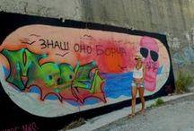 Graffiti, Streetart, Installations