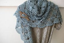 Crochet - scarves, cowls and shawls / by kerry hughes