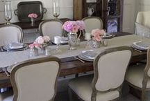 Dining Rooms / Everything you need to be inspired to create a perfect formal (and informal) dining space.