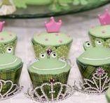 DIY Froschkönig-Party Ideen / Dekoration, Spiele & Bastelideen für eine Froschkönig Party / Princess and Frog Party Craft, Decoration & Activity Ideas