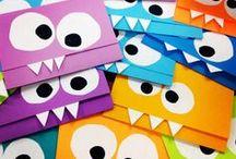 DIY Monster-Party Ideen / Dekoration, Spiele & Bastelideen für eine Monsterparty / Monster Party Craft, Decoration & Activity Ideas // Dekoration, Bastelideen, Spiele rund um einen Monstergeburtstag // Monster Party Printables, DIY Monster, Snacks, Einladung Monster, Monster Spiele,