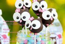 DIY Eulen-Party Ideen / Dekoration, Spiele & Bastelideen für eine Eulenparty / Owl Party Craft, Decoration & Activity Ideas - Ideen rund um die Eule :) #Eule #Eulenparty #Kindergeburtstag #Partyideen #Eulengeburtstag