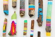 Basteln mit Naturmaterialien / Basteln mit Naturmaterialien // Tiere und andere Bastelideen mit Materialien aus der Natur. Besonders schöne und einfache Ideen zum Herbst Basteln //  DIY Ideen mit Holz, Blättern und Naturmaterialien