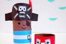DIY Piraten-Party Ideen / Dekoration, Spiele & Bastelideen für eine Piratenparty /  Pirate Party Craft & Activity Ideas. Ideen für eine Piraten Party. Spiele, Basteln und Essen - alles rund ums Motto Pirat. // #pirat #piraten #piratenparty #kindergeburtstag
