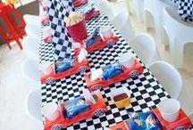DIY Rennwagen-Party Ideen / Ideen für eine Rennwagen Party. Basteln, Spiele und Essen - alles zum Motto Formel 1 / racing car party ideas // #formel1 #rennwagen #rennwagenparty #kindergeburtstag #partyideen