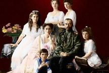 Romanovs: Last of the Dynasty / A board dedicated to one of my first historical obsessions, the last Imperial Russian family, Tsar Nicholas II, Tsarina Alexandra and their five children, Grand Duchesses Olga, Tatiana, Maria, Anastasia, and Tsarevich Alexei.