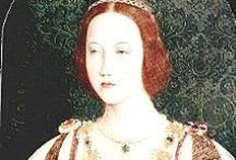 Mary Tudor, Queen of France and Duchess of Suffolk / A board dedicated to Mary Tudor (1496-1533), youngest daughter of Henry VII of England, sister of Henry VIII of England, briefly Queen of France through her marriage to Louis XII of France, Duchess of Suffolk through her marriage to Charles Brandon, and grandmother of Lady Jane Grey.